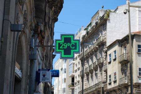 Ola de calor Vigo/Tresyuno Comunicación