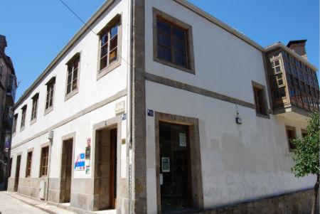 El edificio del CITC, en la rúa San Vicente (Casco Vello) podría ser la sede de la UNED en Vigo