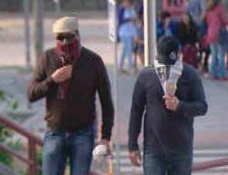 Dos miembros de la asociación. Imagen: TeleMadrid