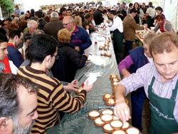 As Neves también homenajea al requesón y la miel.