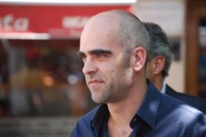 Luis Tosar, hoxe en Vigo/Tresyuno Comunicación
