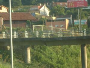 Puente sobre AP-9/Tresyuno Comunicación