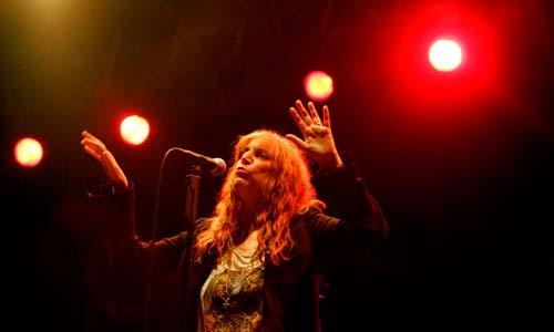 El concierto de Patti Smith en Castrelos.