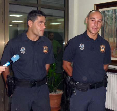Estanislao Eireos y Rubén Corra.