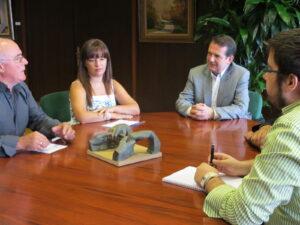 A reunión do alcalde cos dirixentes da Favec.