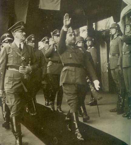 1940-Hendaya- Franco-Hitler