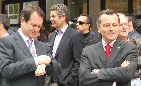 Caballero dille a Hernández que xa chegou a hora de Navia
