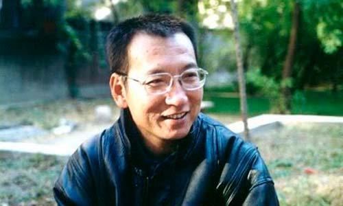 El activista chino Liu Xiaobo.