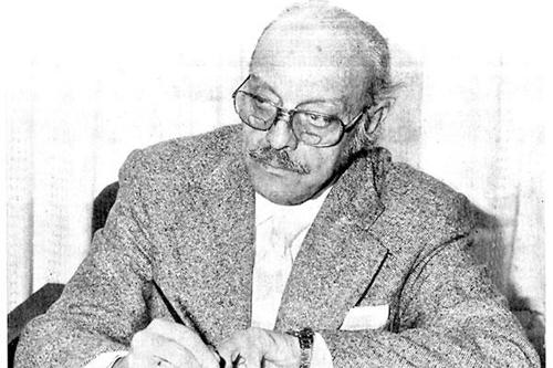 O escritor Darío Álvarez Blázquez.