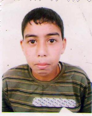 El joven muerto Elgarhi Nayem.