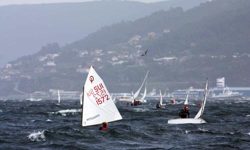 La Ría de Vigo estuvo en unas condiciones imposibles.