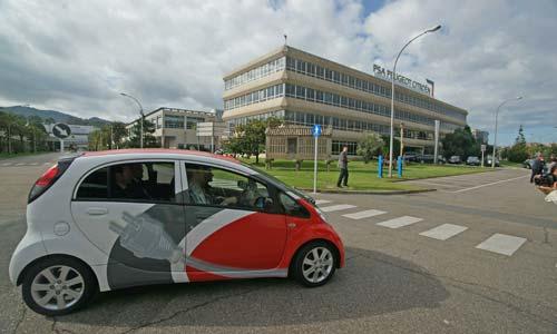 El iOn, coche eléctrico de Peugeot.
