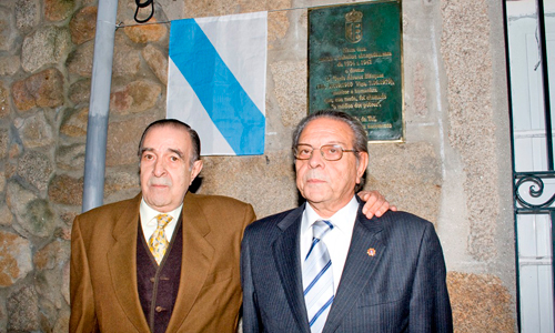 Os irmáns Álvarez Gándara.