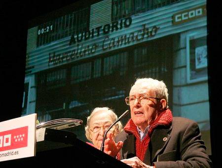 El ex secretario general de CCOO falleció en Madrid a los 92 años.