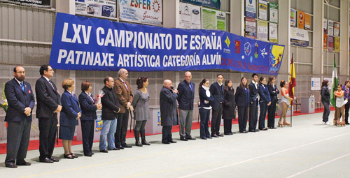 LXV Campeonato de España de patinaje artístico en Covelo.