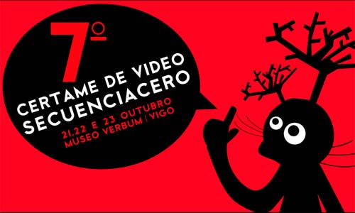 O cartel da sétima edición de Secuencia Cero.