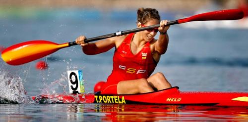 La canguesa Teresa Portela.