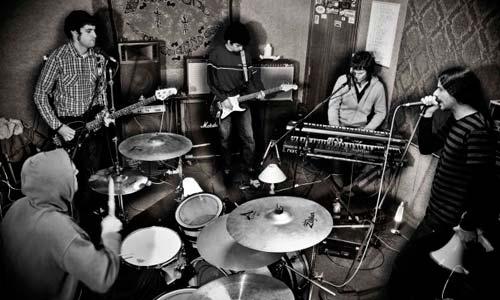 La banda viguesa Voltaica.