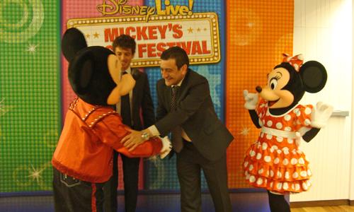 Mickey ya llegó a la ciudad...
