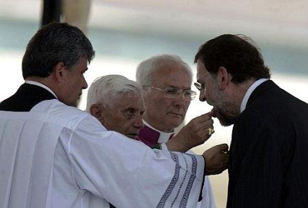 RRajoy y el Papa
