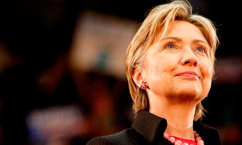 Hillary Clinton se entrevistó con Trinidad Jiménez durante la cumbre de la Otan.