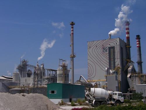 La fábrica de Ence emite más mercurio que el recomendado por la OMS.