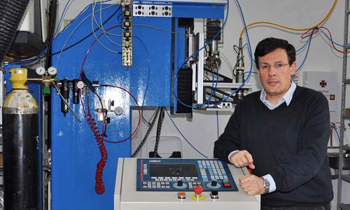 Juan María Pou, profesor da Universidade de Vigo.