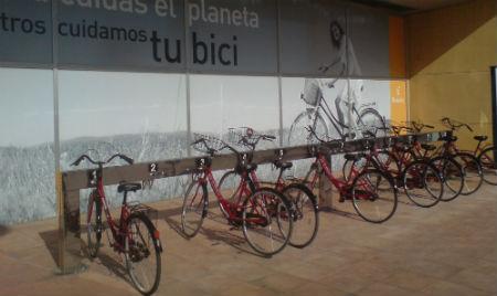 Bancada bicis eléctricas