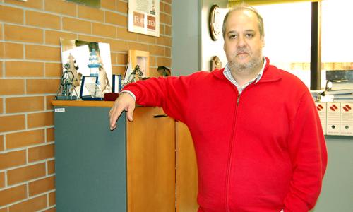 O profesor da Universidade de Vigo, Enrique Varela.