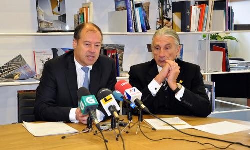 Mato y Fernández Alvariño mantuvieron una reunión hoy.