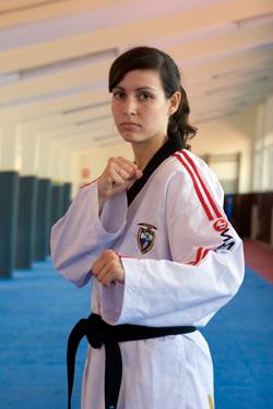 A viguesa Estefanía Hernández, no ranking.