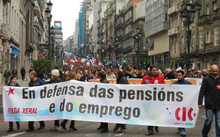 Manifestación Vigo/Tresyuno Comunicación