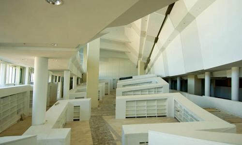 Los Príncipes de Asturias inauguran mañana la Biblioteca de Galicia.