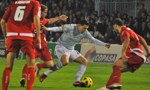 El Celta sólo ha podido sacar un punto de Balaídos. Foto: Diego Pérez.