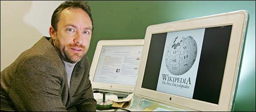 Jimmy Wales, fundador de Wikipedia.