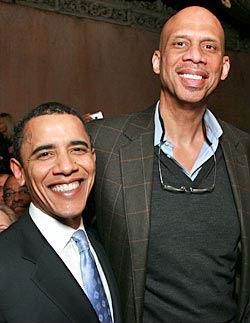 Jaggar y Obama