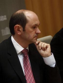 Rafael Louzán, presidente de la Diputación de Pontevedra