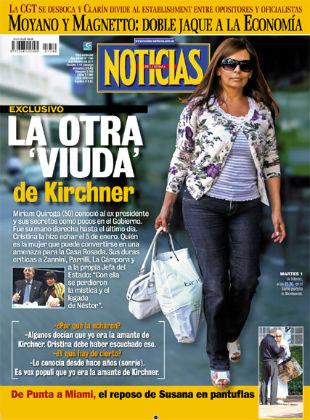 Portada de la revista argentina 'Noticias'