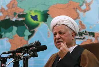 El alterior presidente de Irán, Rafsanyani