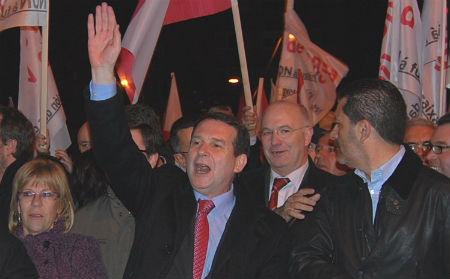Abel Caballero repite como candidato socialista a la Alcaldía de Vigo