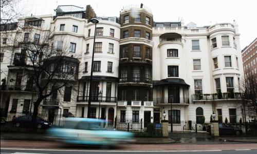 En Londres ocupar una vivienda deshabitada es legal.
