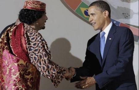 Gadafi ya no quiere ser amigo de Obama, ahora buscará el apoyo de Bin Laden