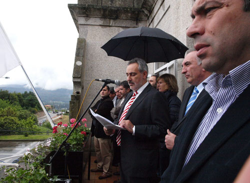 José Manuel Cores Tourís deu o pregón.