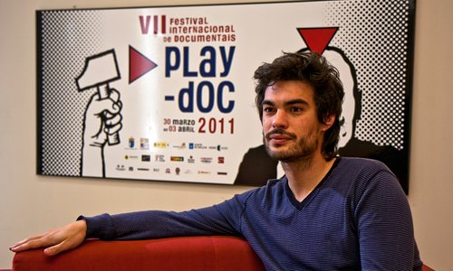 El cineasta Oliver Laxe. Foto: Goretti Vázquez.