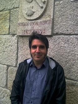 Roberto Fernández, candidato do BNG á pedanía de Bembrive.