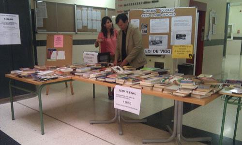 A Escola Oficial de Idiomas organiza un mercadiño solidario con Xapón.