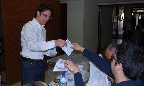 Alberto Martínez, candidato de Centro Democrático Liberal.