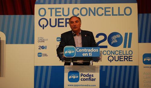 Emilio Castro gobernará outros catro anos máis As Neves.