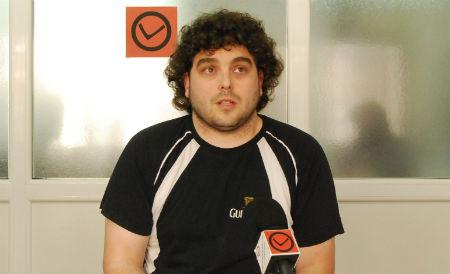 O candidato á alcaldía de Vigo, Moncho Lareu.