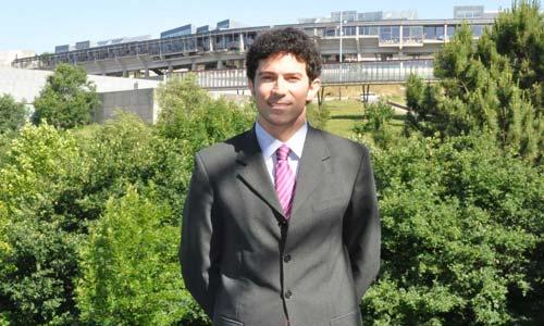 Alexandre Pazos, autor da tese.